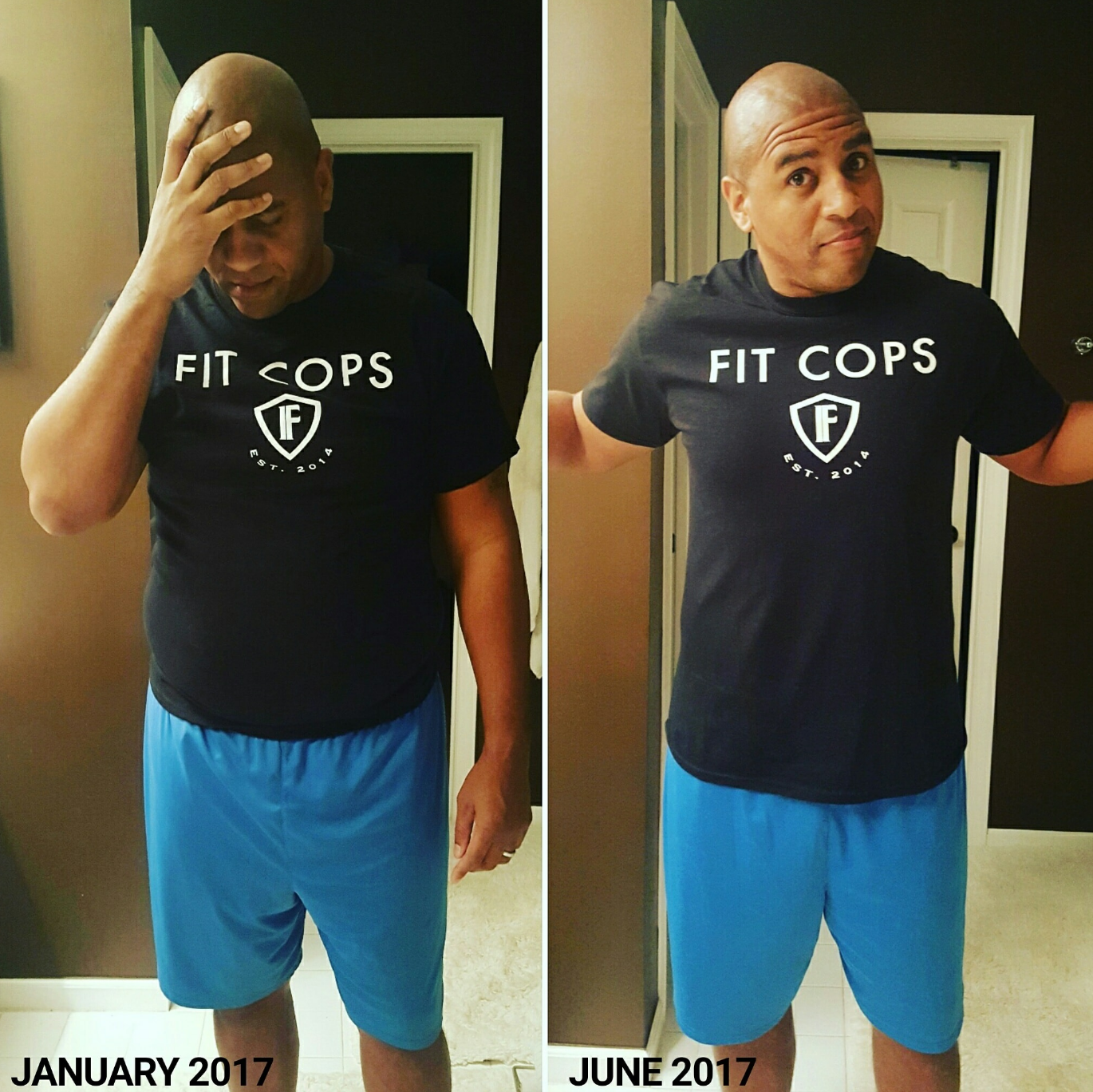 Cop Loses Weight Using Simple Weight Loss System