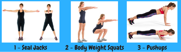 workout without equipment