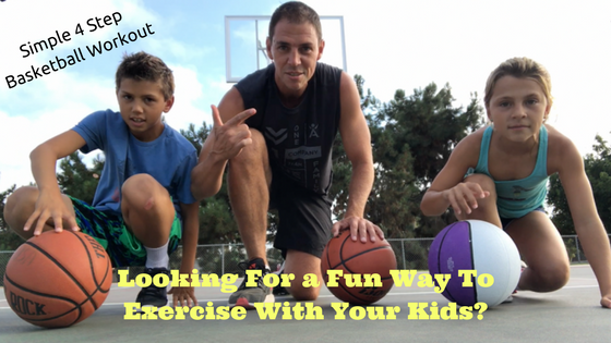 exercise with kids