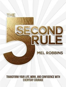 motivational book 5 second rule by mel robbins